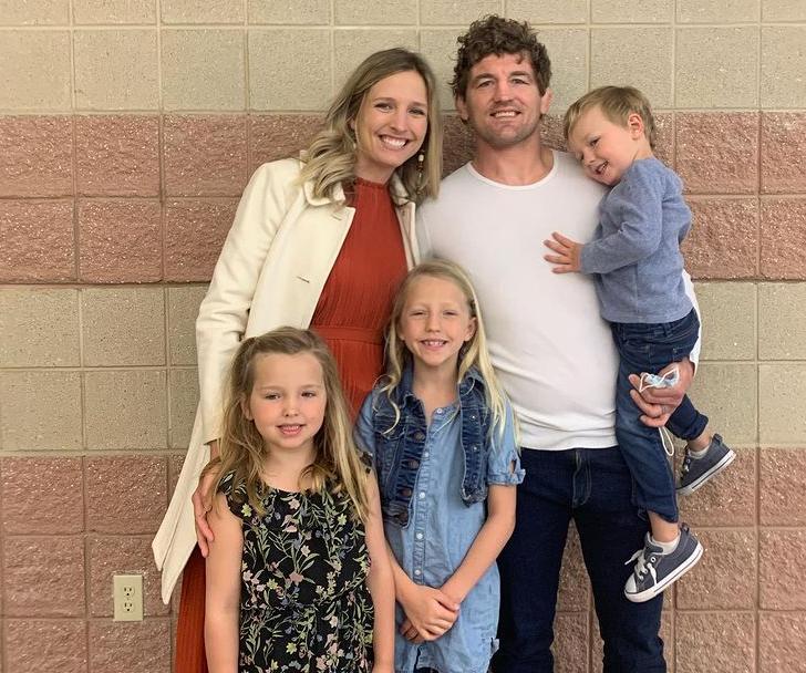 Amy Askren and her kids