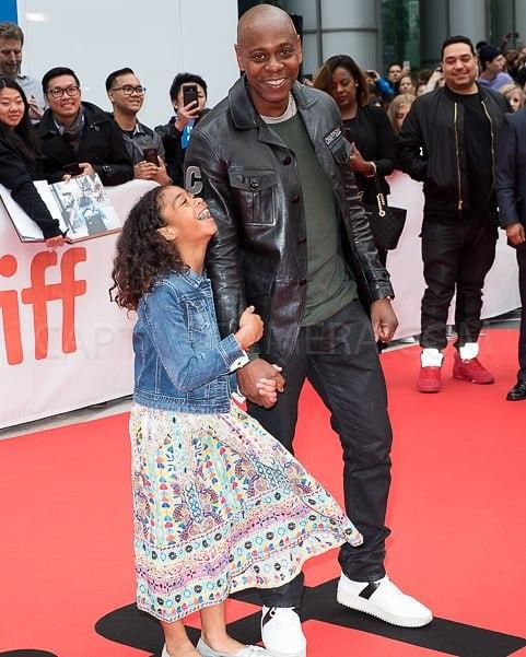 David Chappelle with his daughter Sonal Chappelle