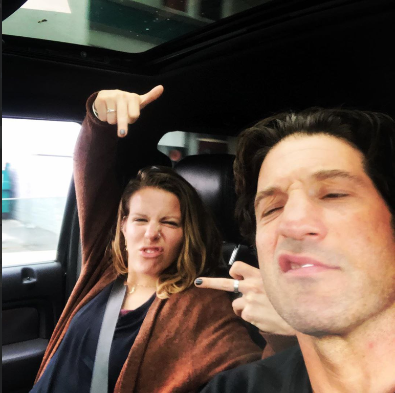 Erin Bernthal with her husband Jon Bernthal