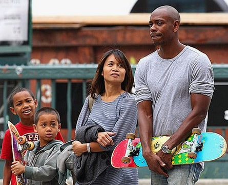 Ibrahim Chappelle with his family