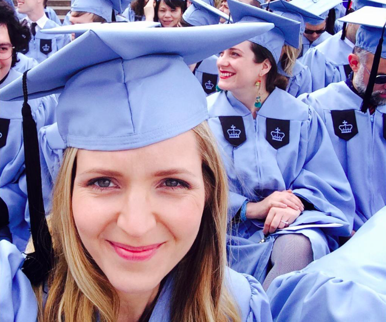 Jordana Spiro graduated