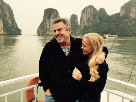 Cara Kokenes is happy with husband Christopher Knight
