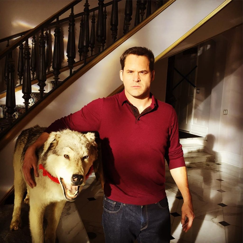 Kyle Bornheimer at his house
